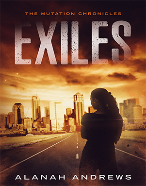 Alanah Andrews –  Exiles: A post-apocalyptic novella (The Mutation Chronicles) Kindle Edition